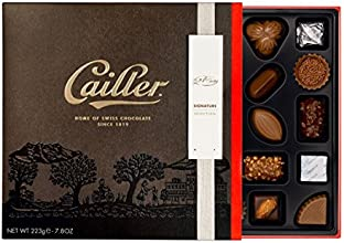 Cailler Signatur-Pralinensortiment 25 Stück, Große Schokoladenauswahl, 1er Pack (1 x 223 g)