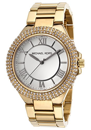 Michael Kors MK3277 33mm Gold Steel Bracelet & Case Mineral Women's Watch
