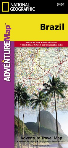Brazil (Adventure Map (Numbered))
