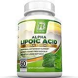 Top Rated Alpha Lipoic Acid Softgels - 300mg Fast Absorption Liquid Softgels By BRI Nutrition