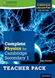 Complete Physics for Cambridge Secondary 1 Teacher Pack: For Cambridge Checkpoint and beyond (Checkpoint Science)