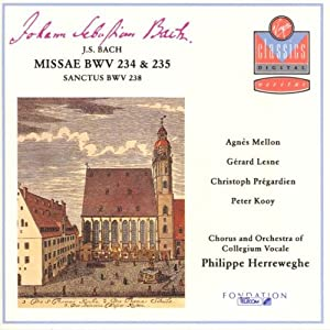 Bach: Missae BWV 234 & 235 / Sanctus BWV 238
