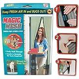 Magic Mesh Hands-Free Screen Door with magnets
