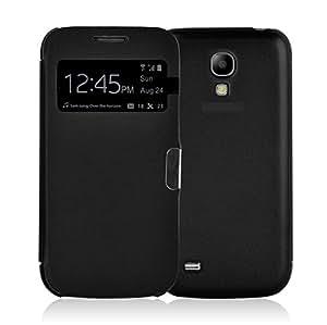 JAMMYLIZARD   Smart View Flip Case Hülle für Samsung Galaxy S4, SCHWARZ