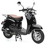 Motorroller Nova Motors Retro Star 50 schwarz - 45km/h