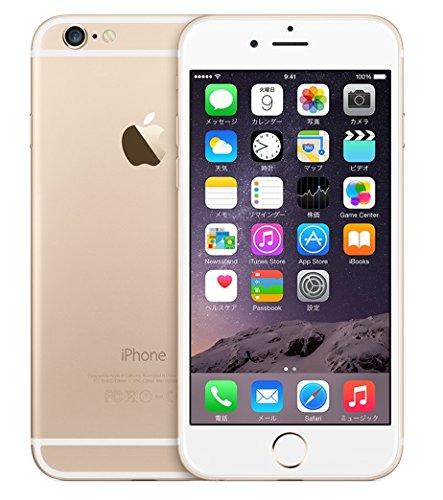 Apple アップル iPhone 6 4.7インチ 64GB Gold ゴールド 日本版正規SIMフリー A1586