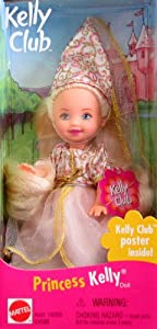 Barbie PRINCESS KELLY Doll (1999 Kelly Club)