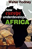 img - for How Europe Underdeveloped Africa by Walter Rodney Published by Black Classic Press (2011) Paperback book / textbook / text book