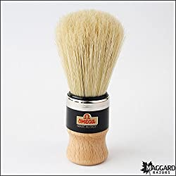 Omega made in Italy shaving brush Art 20102(assorted) with free Ayur Sunscreen 50 ml