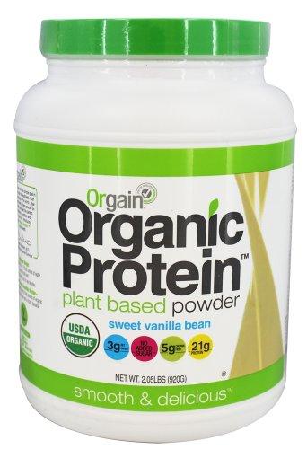 Orgain Organic Protein Plant-Based Powder, 2.05 Pound