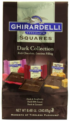 Ghirardelli Chocolate Squares, Dark Collection