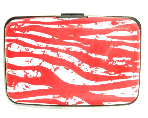 Savory Bacon Novelty Aluminum Wallet Credit Card Case Holder - Rfid Protection