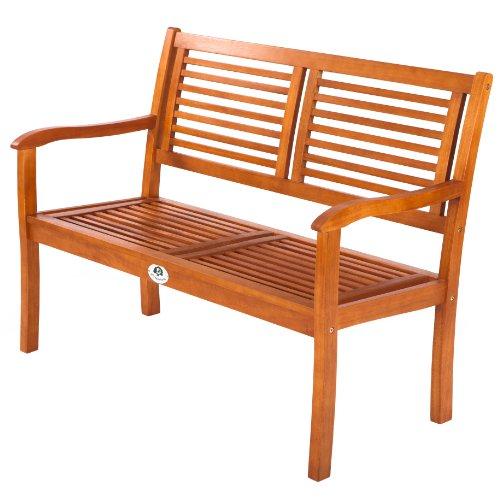 Ultranatura-Gartenbank-2-Sitzer-Canberra-Serie-Edles-Hochwertiges-Eukalyptusholz-FSC-zertifiziert-120-cm-x-56-cm-x-91-cm