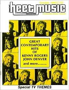 Sheet Music Magazine Vol 8 No 2 Superman DC Comic Movie 1984 John Williams Rare!