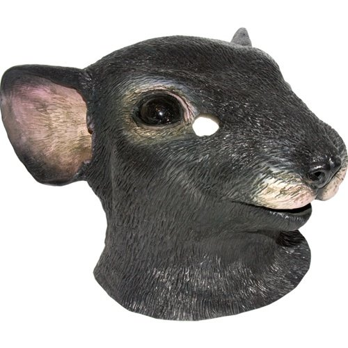 Realistic Mouse Mask : Full Face Rubber Latex Costume Mask