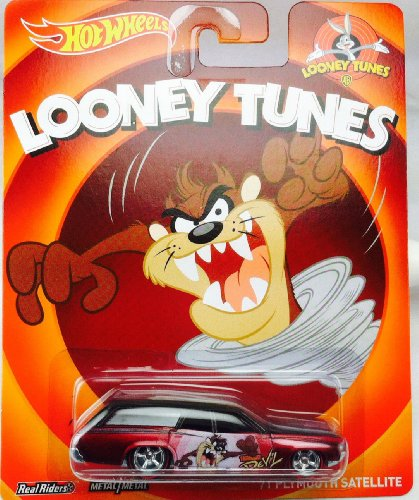 HOT WHEELS LOONEY TUNES TAZMANIAN DEVIL '71 PLYMOUTH SATELLITE