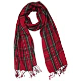 Tartanista Women's Pashmina/Silk Scarf/Shawl In 5 Great Scottish Tartans/Plaids