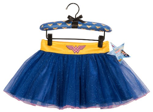 Wonder Woman Best Friends Tutu Skirt With Puff Hanger