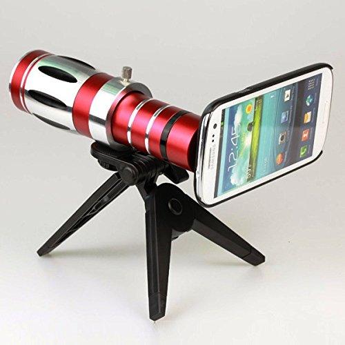 Giftsbox 20X Telescope Camera Lens Aluminum Mobile Phone Telephoto Lens For Samsung S3 I9300