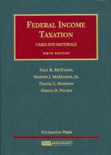 McDaniel, McMahon, Simmons, and Polsky's Federal Income...