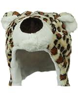 Fleece ML Animal Hat - Leopard W04S50F