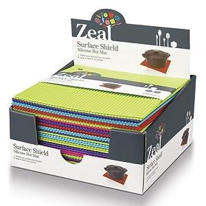 ZEAL 1x Hot Mat 22cm J310 - Pick your color