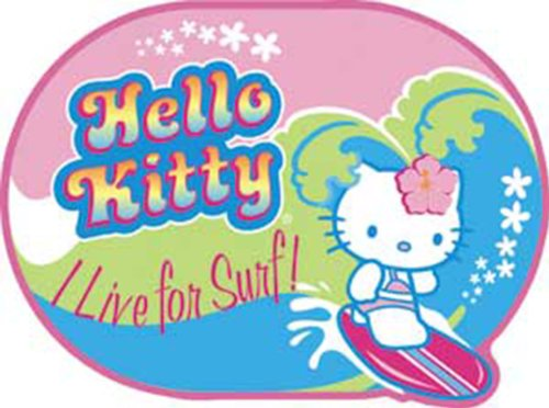 Licenses Products Hello Kitty Live for Surf Sticker