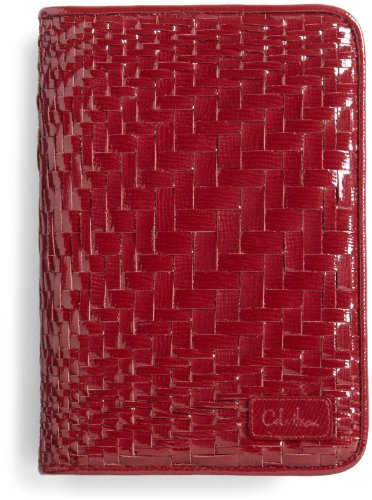 Cole Haan Woven Leather Kindle Cover with Hinge for 6