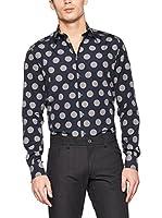 ZZ_Dolce & Gabbana Camisa Hombre (Azul Marino)