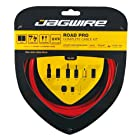 Jagwire Racer Complete Road Brake & Derailleur DIY Kit, Red
