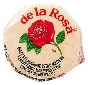 Amazon.com : De La Rosa Marzipan Peanut Candy, 30 Packs
