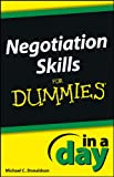 img - for Negotiating Skills In a Day For Dummies book / textbook / text book