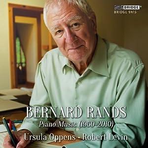 Bernard Rans: Piano Music 1960-2010