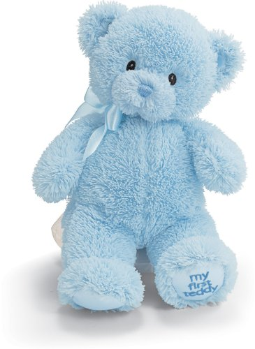 Gund My1st Teddy Blue 10