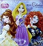 Princess 2014 Calendar 7 x 11 - 16 Months
