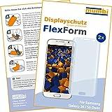 2 x mumbi FlexForm Schutzfolie für Samsung Galaxy S6 / S6...
