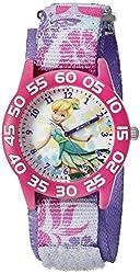 """Disney Kids'  W001184 """"Tinker Bell"""" Time Teacher Watch"""