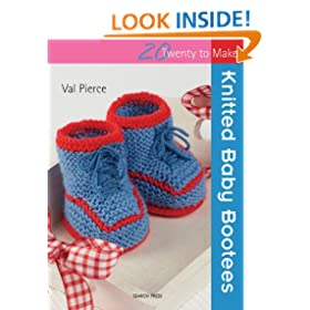 Twenty to Make: Knitted Baby Bootees