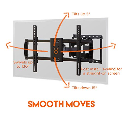 ECHOGEAR Full Motion Articulating TV Wall