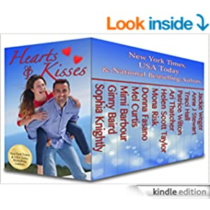 hearts and kisses box set book cover