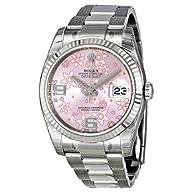 Rolex Datejust Automatic Pink Floral…