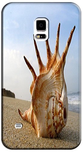 Phones Accessories Beautiful Beach Sunshine Cute Conch Cell Phone Case Samsung Galaxy S5 I9600 # 1