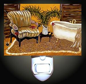 Luxury Bathroom Decorative Night Light