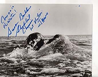 "* SUSAN BACKLINIE * signed ""Jaws"" 8x10 photo ""Chrissie ..."
