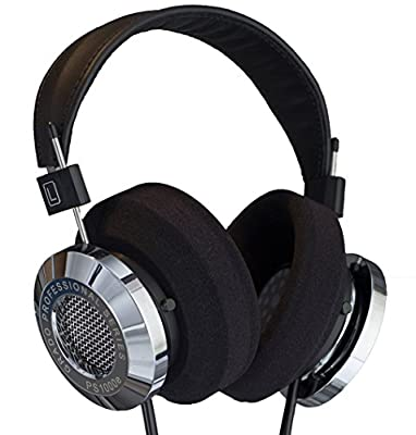 Grado PS1000e Professional Series Dynamic Open Air Stereo Headphone, 5-50,000Hz Frequency Response, 32Ohms Impedance