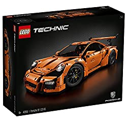 Lego Technic-Confidential-Ultimate Porsche 911 GT3 RS - Dieser Lego Technic Porsche ist ein wahres Highlight. Baue den LEGO Technic Porsche 911 GT3 RS, der über eine äußerst detaillierte Karosserie, Felgen, Bremssättel, Cockpit und einen 6-Zylinder-B...