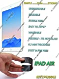 0.2mm UNBREAKABLE TEMPERED GLASS FILM Guard REUSABLE SCREEN PROTECTOR FOR Apple iPad Air - PS FORTUNET