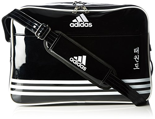 Adidas - Borsa a spalla Taekwondo Nero-Bianco