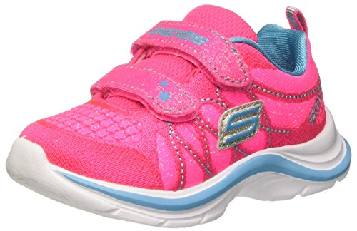 Skechers Infant/Toddler Girls' Swift Kicks Lil Glammer Sneaker,Neon Pink/Turquoi (Shoes For A Lil Girl compare prices)