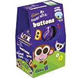Cadbury Dairy Milk Buttons Egg 162g (Box of 9)